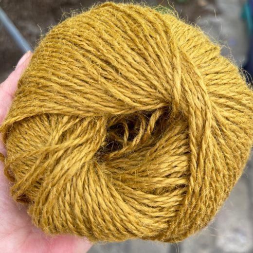 Rubí Nómada Yute - 003-mostaza
