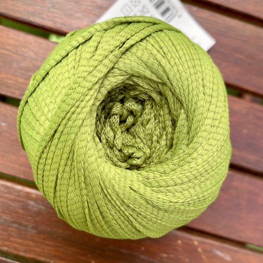 BOTTLE CROCHET - verde